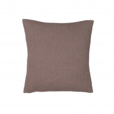 Coussin Maia Brun Taupe 45 X 45