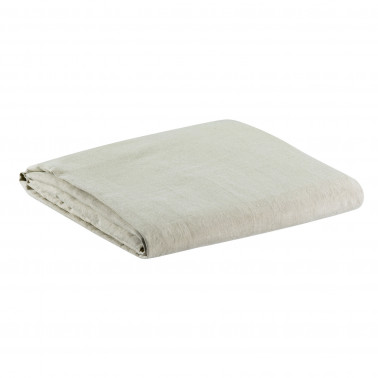Drap Housse Stonewashed Zephyr Naturel 140 X 190