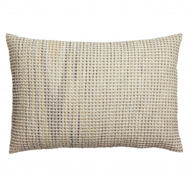 Coussin stonewashed Mayana Gris 30 x 50