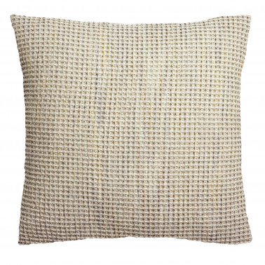 Coussin stonewashed Mayana Gris 45 x 45