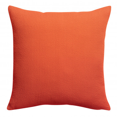 Coussin stonewashed Musa Citrouille 45 x 45