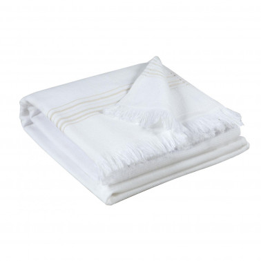Serviette de toilette Cancun Neige 50 x 100