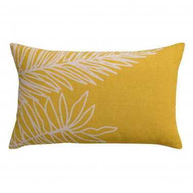 Coussin Stonewashed Zeff Palm Absynthe 30 x 50