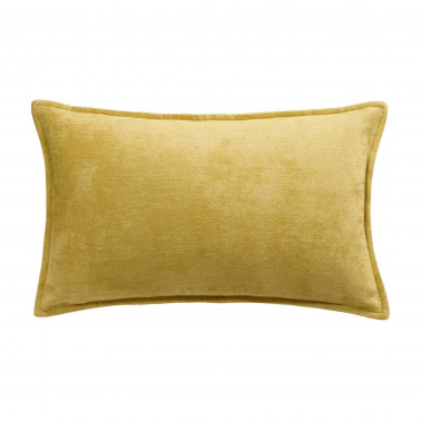 Coussin Velor Curry 30 X 50