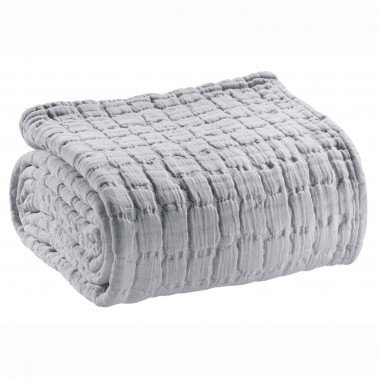 Couvre-lit stonewashed Swami Perle 180 x 260