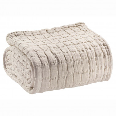 Couvre-lit stonewashed Swami Lin 240 x 260