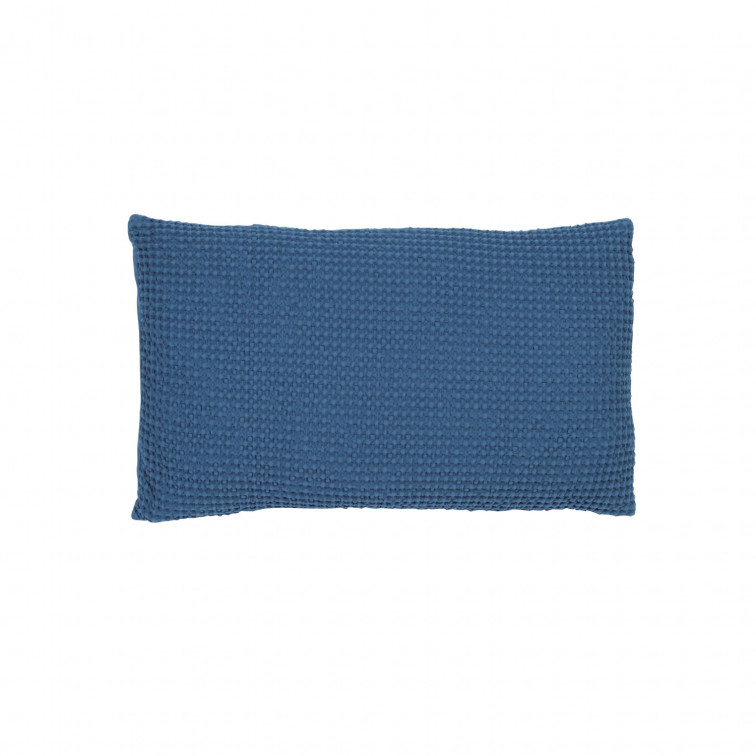 Coussin Maïa outremer 30 x 50