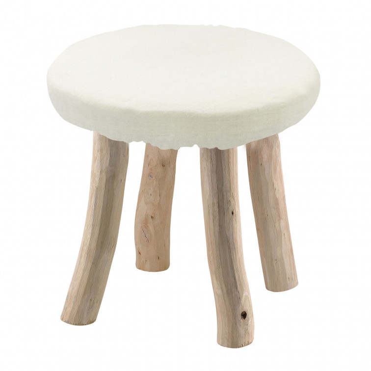 STRUCTURE TABOURET UNI JO NATUREL Taille unique