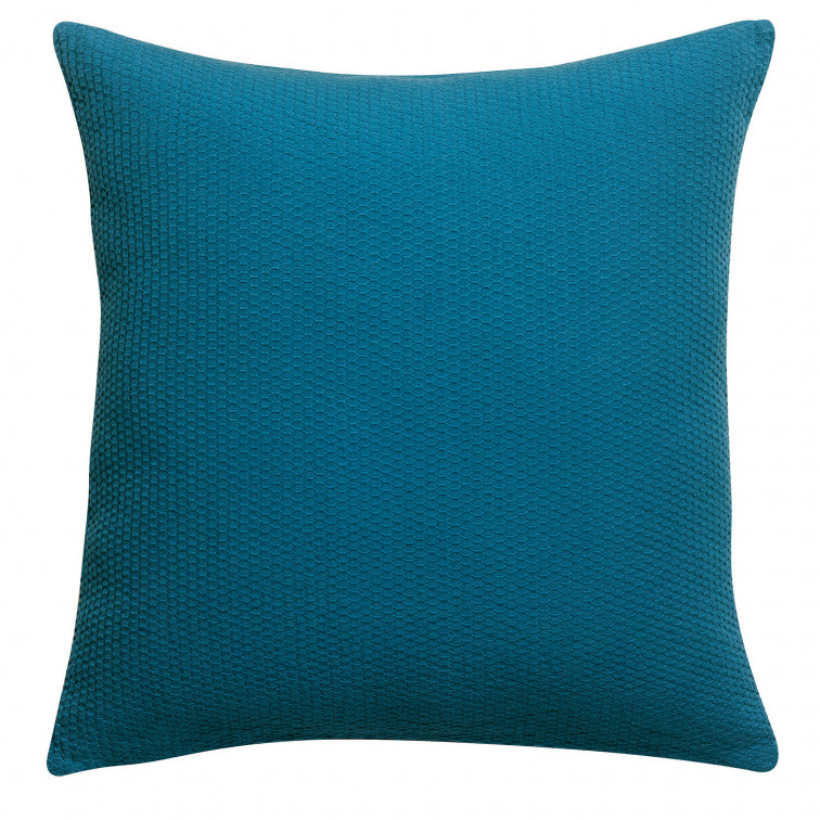 Coussin stonewashed Musa Topaze 45 x 45