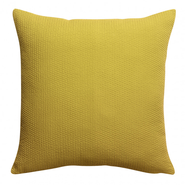 Coussin stonewashed Musa Absynthe 45 x 45