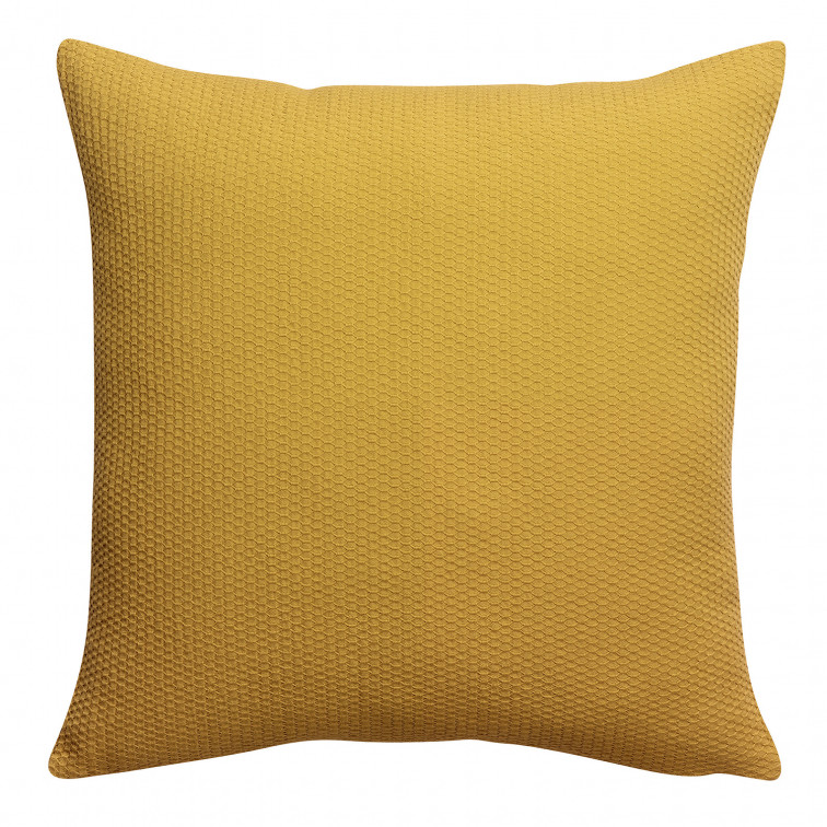 Coussin stonewashed Musa Sulfur 45 x 45