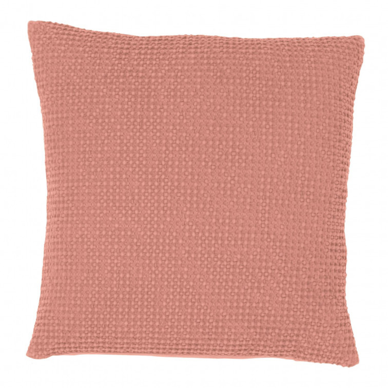 Coussin stonewashed Maia Pétale 45 x 45