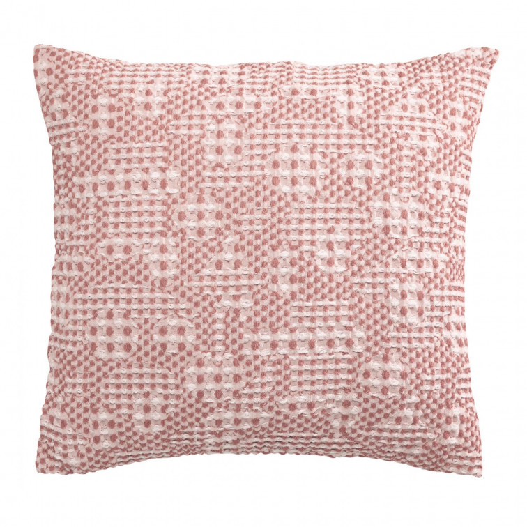 Coussin Stonewashed Talin Blush 45 x 45