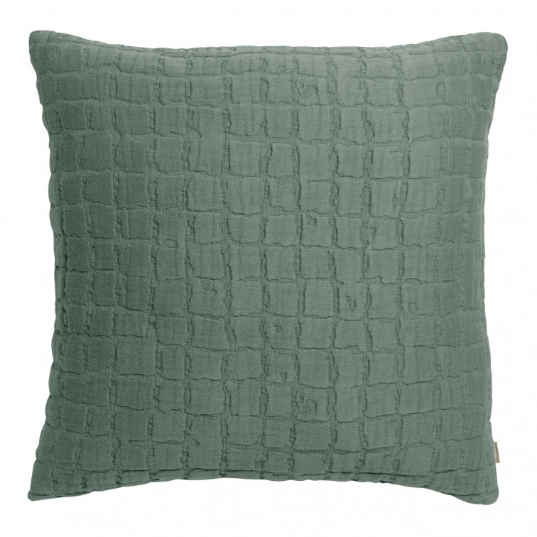 Coussin stonewashed Swami Thym 45 x 45