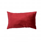Coussin Lisa Rouge Carmin 30 X 50
