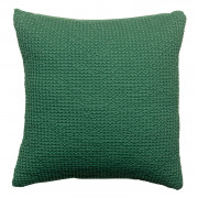 Coussin stonewashed Maia Epicea 45 x 45