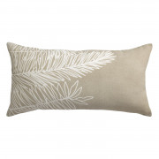 Coussin Stonewashed Zeff Palm Craie 55 x 110