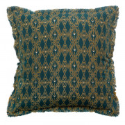 Coussin Tess Paon 45 x 45