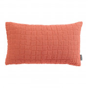 Coussin Stonewashed Swami Corail 30 x 50