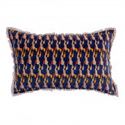 Coussin Tahis velours Encre 40 x 65
