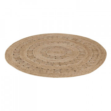 Tapis Patna Naturel diamètre 120