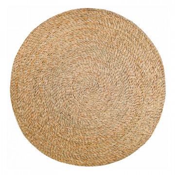 Tapis Rushy Naturel diamètre 120 cm