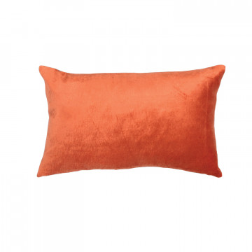 Coussin Lisa Orange Potiron 30 X 50