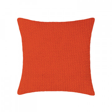 Coussin STONEWASHED MAIA CITROUILLE 45 X 45