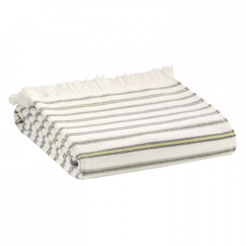 Drap de bain anime Luce Naturel 100 x 180