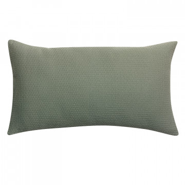 Coussin stonewashed Musa Olive 30 x 50