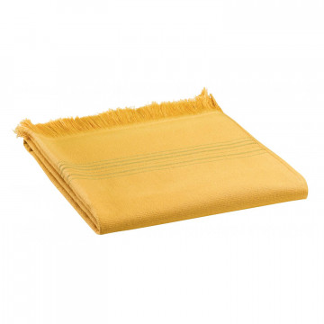 Serviette de toilette Cancun Curry 50 x 100