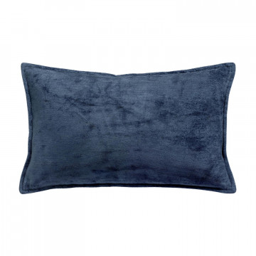 Coussin Velor Encre 30 X 50