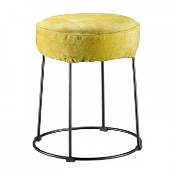 Housse de tabouret Velor Curry 0 X 36 X 10