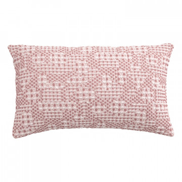 Coussin Stonewashed Talin Blush 30 x 50