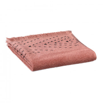 Serviette de toilette Julia Blush 50 x 100