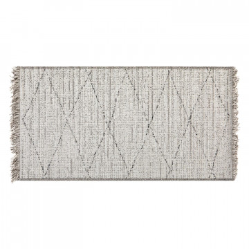 Tapis Tweed Neige 60 x 110